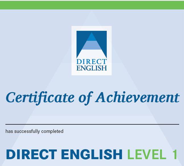 english certificate